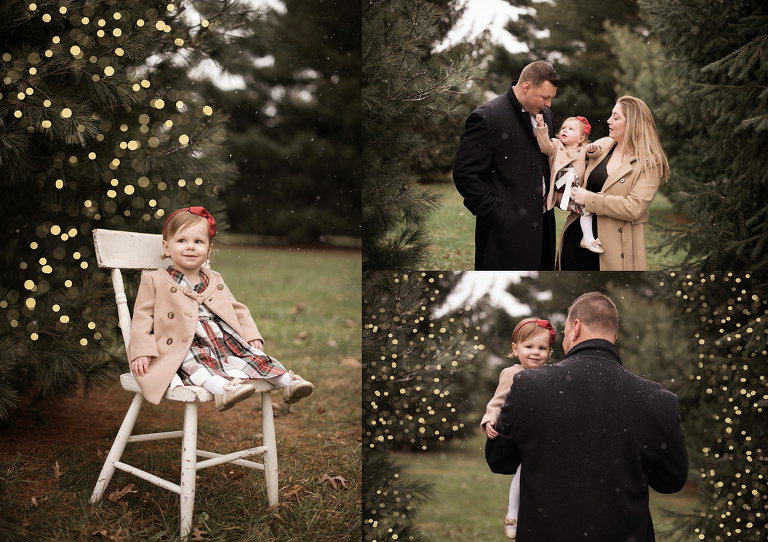 mini christmas portrait session frederick maryland photographer